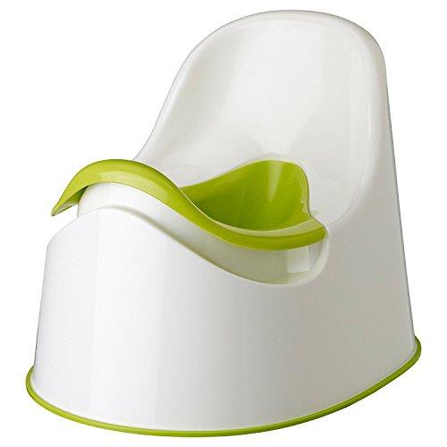 IKEA LOCKIG – Töpfchen für Kleinkinder in Grün-Weiß und Grün Originalverpackung 2er