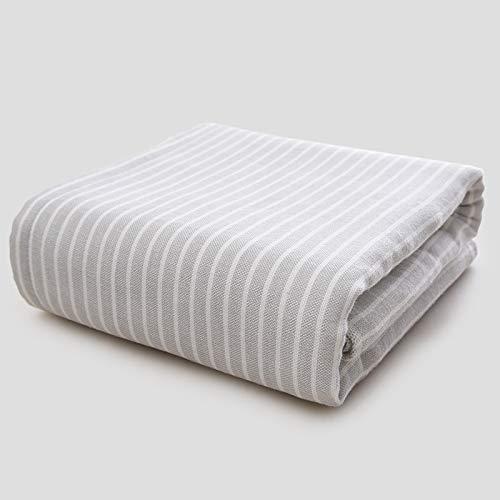 HaHei Toalla de algodón, toalla simple a rayas, 3 toallas, toallas frescas