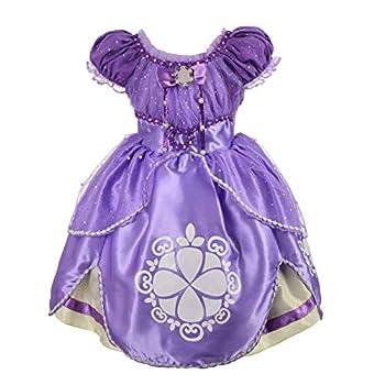 Dressy Daisy Girls  Princess Dress Up Costume Cosplay Halloween Xmas Fancy Party Dresses Size 4T 62
