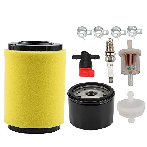 Powtol 796031 594201 Air Filter + 492932 492932S Oil Filter + 394358s 394358 691035 Fuel Filter for 591334 797704 696854 698183 491055S 491055 310000 Engines