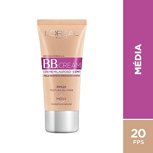 BB Cream Dermo Expertise Base Média 30ml, L'Oréal Paris