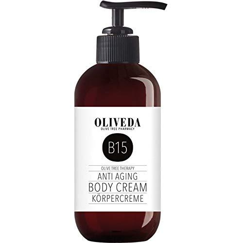 Oliveda B15 - Körpercreme Anti Aging | reichhaltige Körperlotion | straffende Body Lotion | intensive Pflege und Feuchtigkeit | regt Zellneubildung an - 250 ml