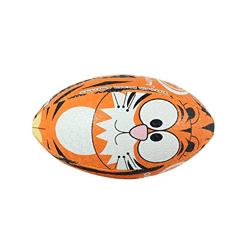 OPTIMUM Unisex-Youth Rugby Ball, Tiger, Mini, Mehrfarbig