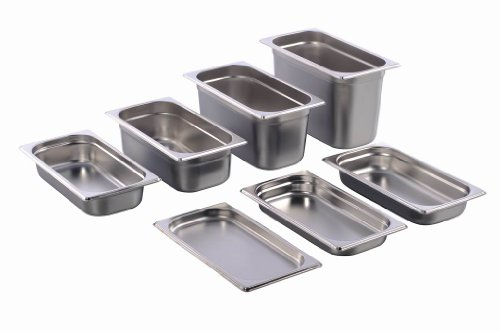 GN Behälter Gastronorm 1/3 Edelstahl (65 Millimeter)