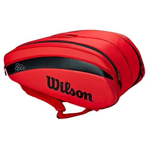 Wilson RF DNA 12 pack Tennis Bag - Red