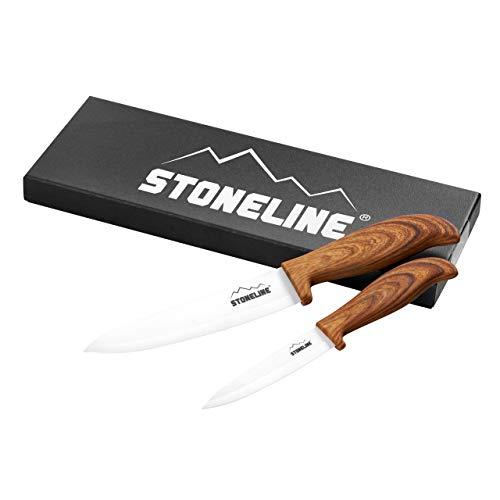 STONELINE® Keramikmesser-Set, 2-TLG.