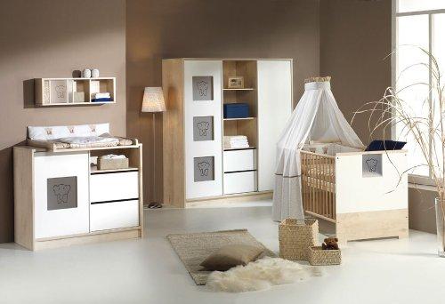 Schardt Eco Slide Kinderzimmer 4-teilig mit 2-trg Schrank