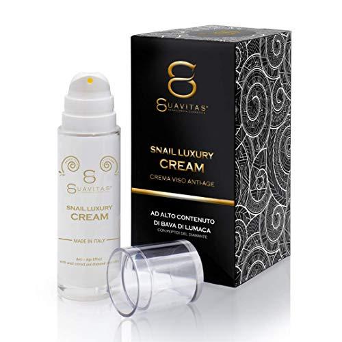 Suavitas Snail Luxury Cream - Crema Antirughe Alto Contenuto Bava...