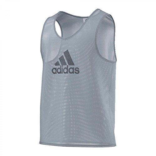 adidas Bekleidung Fußball Trainings Bib 14 Camiseta sin Mangas, Hombre, Silver, XL
