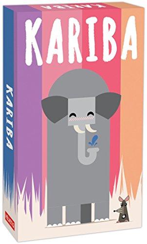 Helvetiq- Kariba Lúdilo, Mesa Educativo para niños, Juegos de Cartas para Llevar de Viaje, Jugar en Familia, Games to go, Multicolor