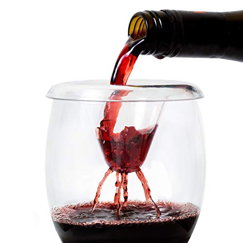 Wine Aerator by IPOUR Premium Pourer Fits Wine Glass or Decanter Gifts For Woman