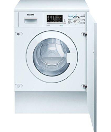 Siemens WK14D541EU Integrado Carga frontal B Blanco lavadora - Lavadora-secadora (Carga frontal, Integrado, Blanco, Izquierda, 52 L, 4 kg)
