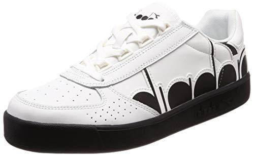 Diadora Unisex-Erwachsene B.Elite Bolder Gymnastikschuhe, Weiß (Bianco 20006), 46 EU