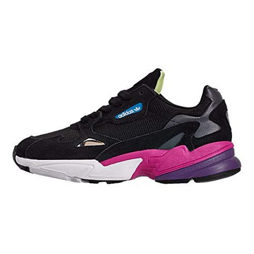 adidas Falcon W, Chaussures d'escalade Femme, Multicolore (Negbás/Negbás/Rossho 000), 38 2/3 EU
