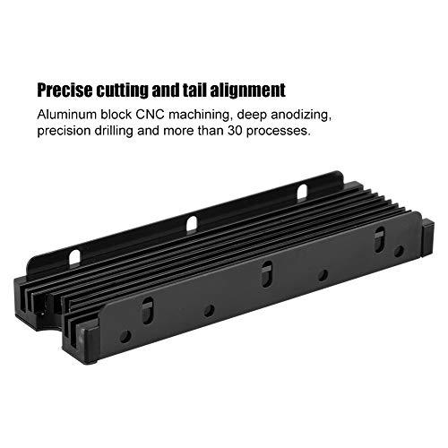 NGFF M.2 Dubbelzijdige SSD koellichaam waterkoeling HDD-warmtegeleidingsketeler, nauwkeurig snijden en uitlijnen van de uiteinden, dubbelzijdige warmteafvoer