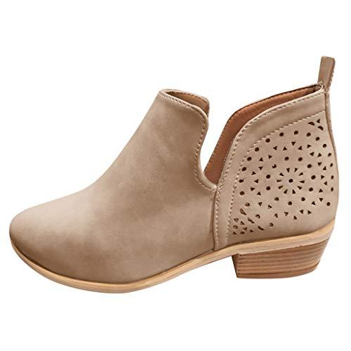 Posional Botas De Nieve Mujer Invierno Botines Tacon para Tacones Altos Zapatos...