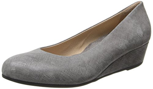 French Sole FS/NY Damen Gumdrop Wedge Pump, Grau (grau), 36 EU