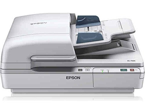 Epson DS-7500 Document Scanner: 40ppm, TWAIN & ISIS Drivers, 3-Year Warranty with Next Business Day Replacement (Renewed)