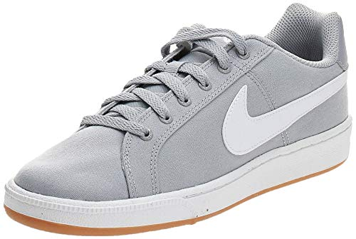 Nike Court Royale Canvas, Zapatillas de Tenis para Hombre, Multicolor (Wolf Grey/White/Gum...