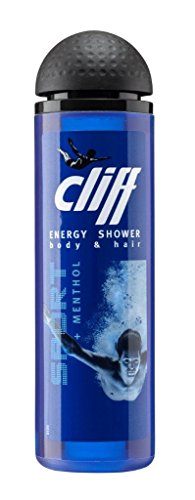 Cliff Shower Gel Energy Sport Duschgel 250 ml, 2er Pack (2 x 250 ml)