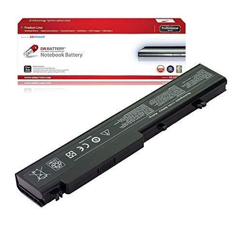 DR. BATTERY Laptop Battery for Dell 312-0740 T117C T118C Vostro 1710 1710N 1720 V1710 V1720 [11.1V/4400mAh/49Wh]