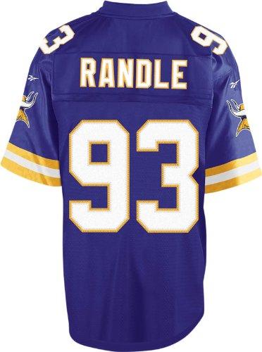 John Randle Minnesota Vikings Reebok Purple Premier Jersey
