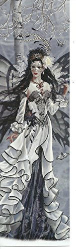 Nene Thomas Bookmark Avelaid Black and White Masquerade Mask