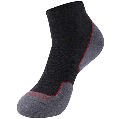 Hiking Merino Wool Socks, Zonent Golf Socks Warm Winter Thermal Socks Ankle Athletic Cycling Socks Gifts for Women Men Teenage Girls Gifts for Women Ultra-Light Running Socks Basketball Socks 1 Pairs