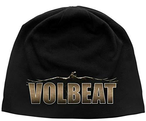 Volbeat Beanie Raven Logo Mütze Strickmütze Cap Hat