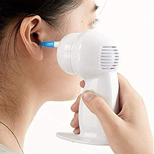 KLNILY Earwax Remover Tool - Electric Vacuum SafeRemoval Earwax Cleaner for Adults & Children - Batteries not Included 0226