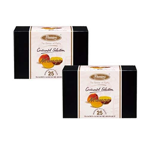 プリミアス コンチネンタルセレクション マンゴ 25ティーバッグx2個セット