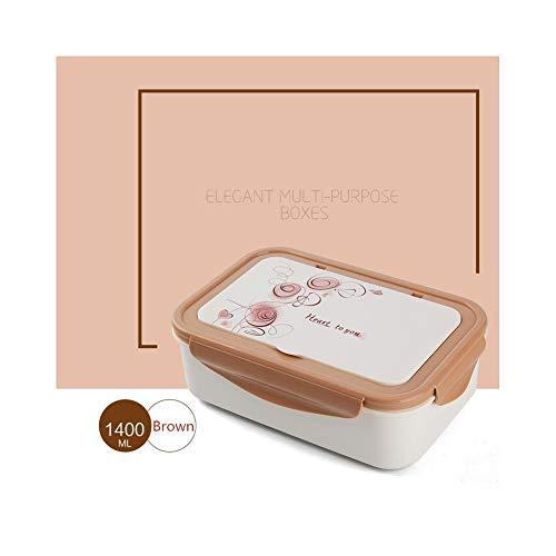 Foshuo Picnic di Lavoro Beach Sporting,Lunch Box Presenta scatole da Picnic Lunch Box Bento Vuoto Contenitore per Alimenti Termici Bento Box Lunch Box Contenitori per Alimenti Dispensa