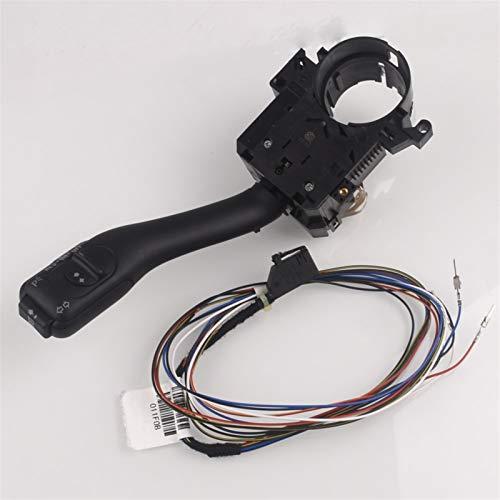 OLDJTK Sistema de Interruptor de Tallo de Control de Crucero para For Audi A2 A3 A6 TT para Skoda Fabia Octavia 8L0953513J con Cables