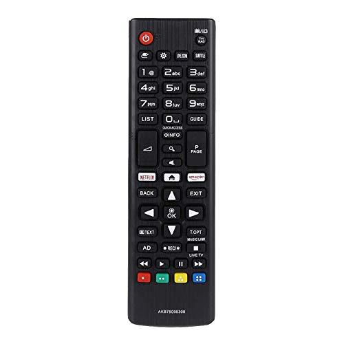 QUANLEIRC Nuevo Mando a Distancia de Repuesto para TV Apto para Todos los televisores LG - Mando a Distancia Universal para TV sin Ajuste LG AKB72914293 AKB72915207 AKB72914209 AKB75095308