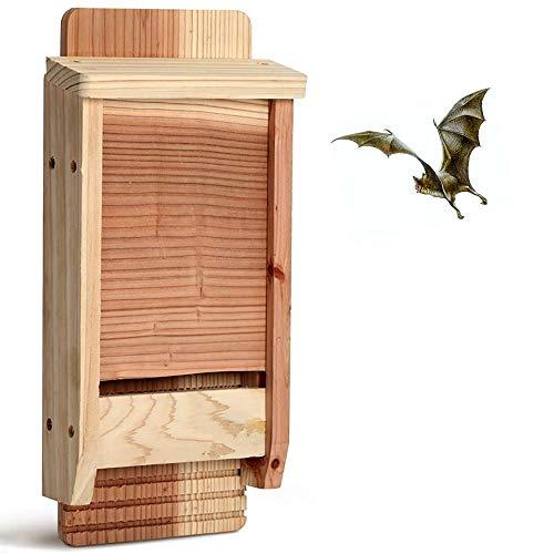 Bels casa para murciélagos, Refugio para murciélago,protección de Especies en tu jardín 17x5.6x37cm(2 pcs)