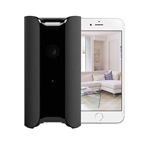 Canary View Schwarz – Überwachungskamera | Alexa kompatibel | Personenerkennung | 1080p Full HD IP WLAN Kamera | Babyphone mit Kamera | Nachtsicht | WiFi Kamera | Bewegungsmelder