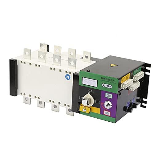 Confiable 1pc alta precisión 250A 4 polos mini tamaño cambio interruptor inteligente doble potencia transferencia automática flexible para fuentes de alimentación lugares eléctricos