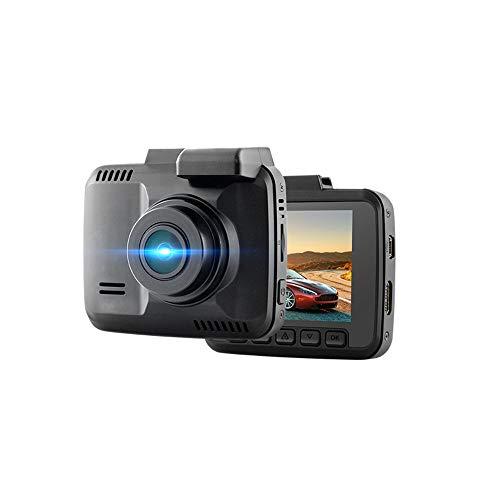 Grabadora de conducción, cámara de automóvil de visión nocturna de 4K HD, pantalla LED de 2.4 pulgadas, pista de GPS incorporada, WiFi, sensor de gravedad, ángulo ancho de 150 grados, adecuado para au