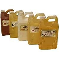 Aceite de cacahuete orgánico sin refinar 100% puro 64oz/2cuartos