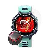 atFoliX Schutzfolie kompatibel mit Garmin Forerunner 735XT Folie, entspiegelnde & Flexible FX Bildschirmschutzfolie (3X)