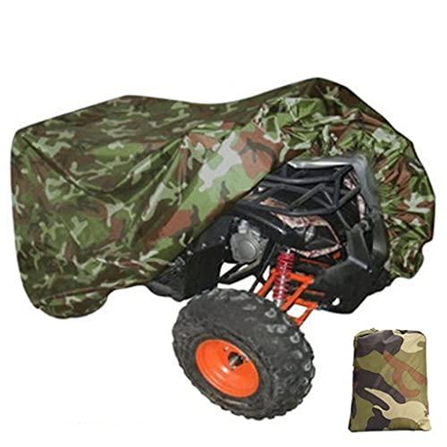 CIFE Funda universal 190T impermeable para motocicleta, cuatrimoto, todoterreno, scooter, motocicleta, protector (tamaño M: