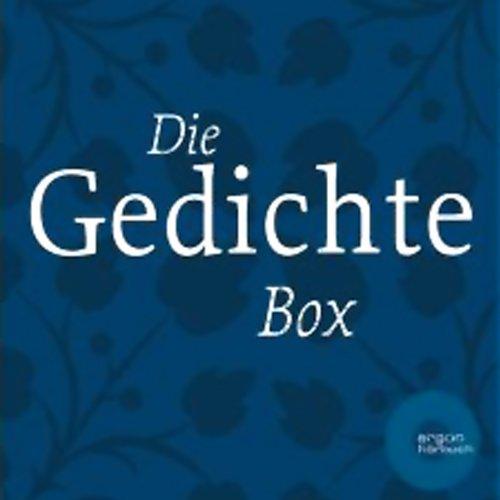 Die Gedichte Box audiobook cover art