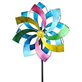 Wind Spinner Multicolored Outdoor Metal...