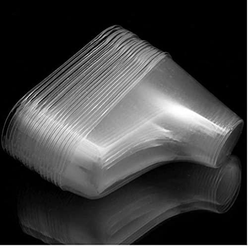 20 Pc/Porción De Plástico Transparente Pies De Visualización Botines del Bebé De Los Zapatos del Calcetín Modelo Exclusivo De Zapatos del Escaparate De Recuerdos