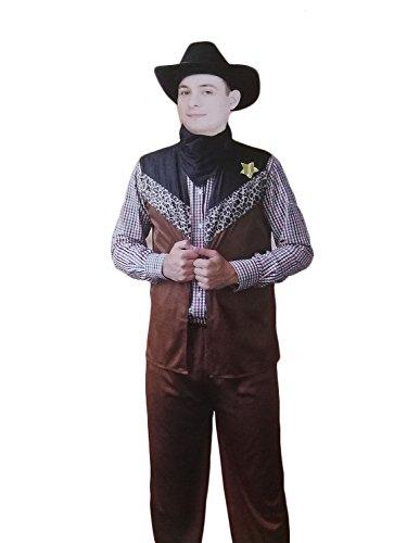 TEDi 3 Teiliges Kinderkostüm Cowboy | Gr. M