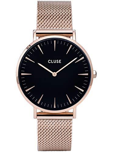 Cluse La Boheme Reloj de Mujer Cuarzo 38mm Correa de Acero CG1519201003...