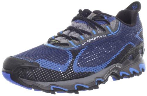 La Sportiva Men's Wildcat 2.0 GTX Trail Running Shoe,Blue/Black,43.5 EU/10.5 M US