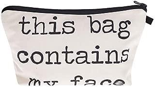 contents my face makeup bag