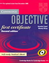 Objective First Certificate Self-study Student's Book