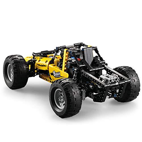 RC Auto kaufen Buggy Bild 4: YxFlower Custom Bausteine, 2.4GHz RC Modell Off-Road 4wd Buggy Bausatz DIY Ferngesteuerter Auto Technic Porsche Block Building Fahrzeug, 522 Stück*